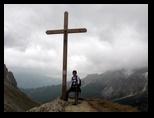 """""""Gipfel""""kreuz bei der Preusshütte"""