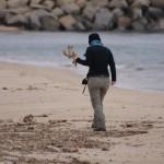 Strandräuberin