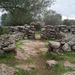 Altes Gemäuer in Serra Orrios