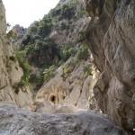 Umkehrpunkt: Den Felsen im Vordergrund schaffte ich nicht!
