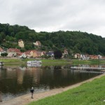 Stadt Wehlen und Fährverbindung