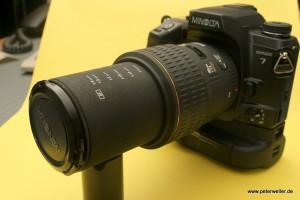 Big Mean Macro Machine: Das Sigma 105mm macht auch Makroaufnahmen bis zum Abbildungsmaßstab 1:1