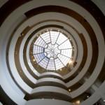 Lichthof des neuesten Bauabschnitts des Guggenheim