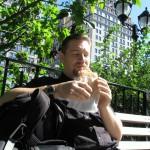 Frühstück, wie so oft im Union Square Park
