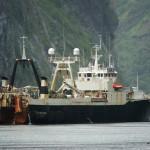 Trawler Nordstar bei der Arbeit