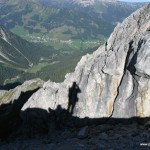 Mein Schatten in den Alpen