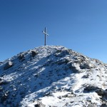 Gipfelkreuz des Westlichen Wengenkopfes