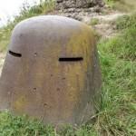 Panzerkuppel im Fort Vaux