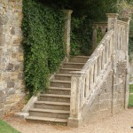 Treppe in der Battle Abbey
