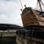 Heck der Victory und Mary Rose Museum