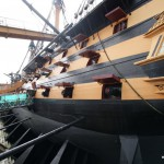 Kann dauern, die HMS Victory klar zum Auslaufen zu bekommen