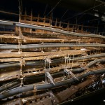 Die Reste der Mary Rose