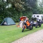 Morgenidyll am Campingplatz