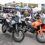 Unsere Motorräder im Getümmel
