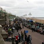 Madeira Drive voller Motorräder