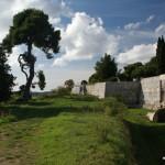 Bei der Zitadelle von Pula