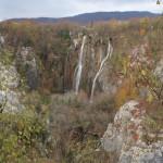 Großer Wasserfall von oben