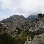 Berglandschaft kurz vor der Küste