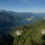 Wocheiner See von der Bergstation aus