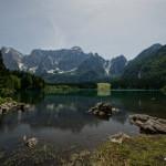 Oberer See und Mangart