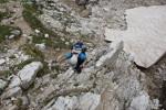 Erstes kleines Kletterstück