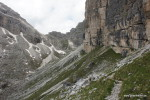 Weg durchs Juel-Tal zur Sassongherscharte
