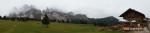 Panorama mit Gschnagenhardt-Alm