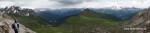 Panorama nach Südwesten
