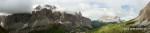 Panorama Sella und Langkofel