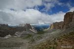 Blick zurück das Chedul-Tal entlang