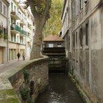 Altes Mühlrad, Färbergasse Avignon