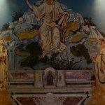Wandmalerei in der Kapelle in Les Baux