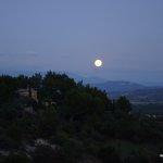 Mondaufgang bei Gordes