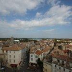 Aussicht von der Arena Arles