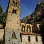 Kirche in Moustiers