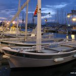 Morgens im Hafen: Boote, kein Markt
