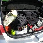 Prall gefüllter Kofferraum