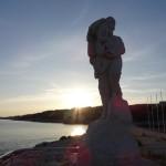 Calendau-Statue