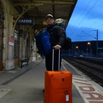Am Bahnhof von Cassis