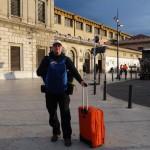 Am Bahnhof von Marseille