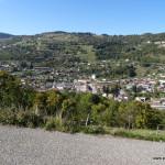 Auswuchernder Wintersportort La Bresse