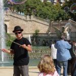 Unterhaltungsprogramm im Park
