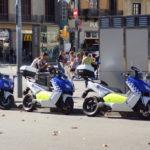 Die Polizei fährt BMW