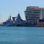 World Trade Center Barcelona mit Marine