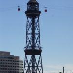 Mittelturm der Seilbahn