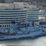 Fregatten vorm WTC