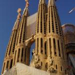 An der Fassade der Kathedrale geht es voran