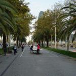 Auf der Avinguda Diagonal