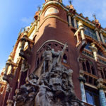 Fassade des Palau de la Musica Catalan