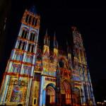 Angeleuchtete Kathedrale